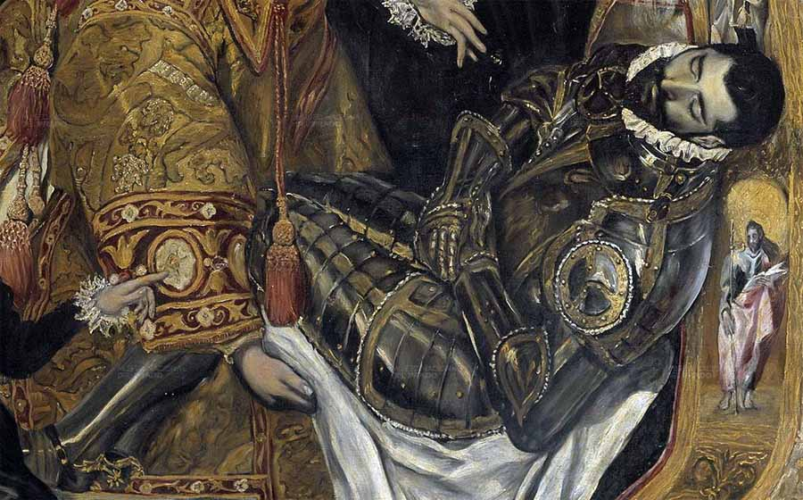El Greco Entierro Conde De Orgaz