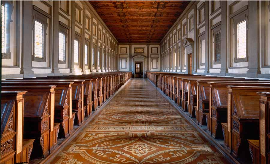 Библиотека Лауренциана (Biblioteca Laurenziana Medicea)
