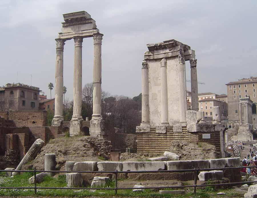 Romano Roma Templo En Foro Más De Vesta Es Importante El kN0w8OXnP