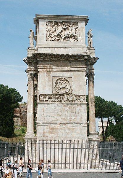 Arco de Constantino: cara este