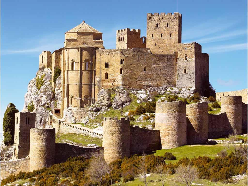 AMIGOS PARA SIEMPRE Castillos por pases  Espaa