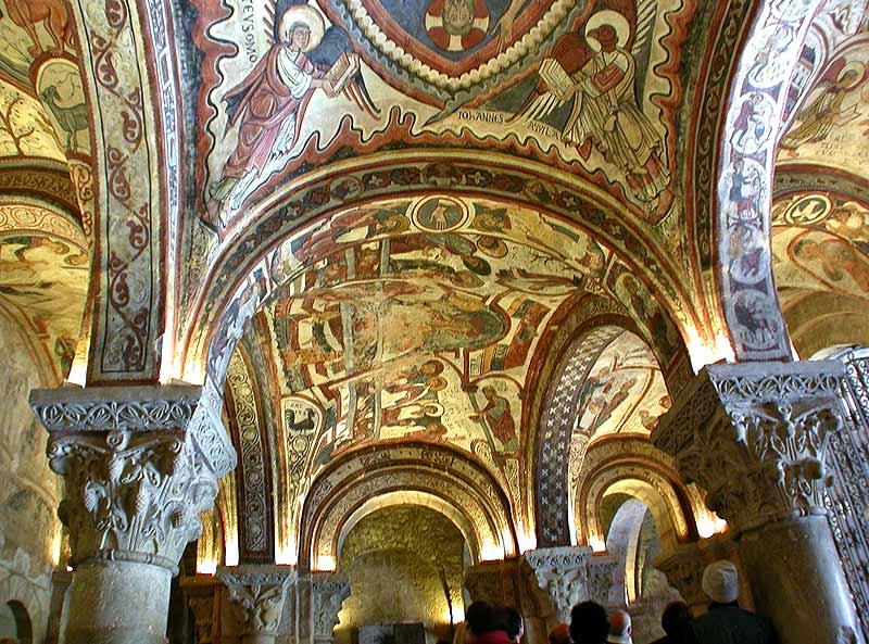 San Isidoro de León. Panteón con sus pinturas.
