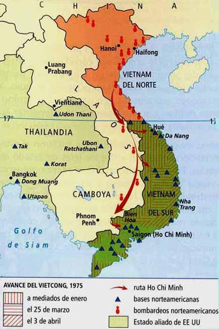 Guerra De Vietnam Mapa.Guerra De Vietnam Mapa Mapa